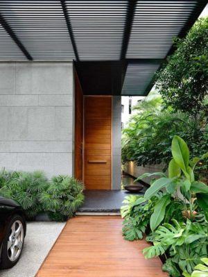 entrée - 66mrn house par Ong&Ong - Singapour