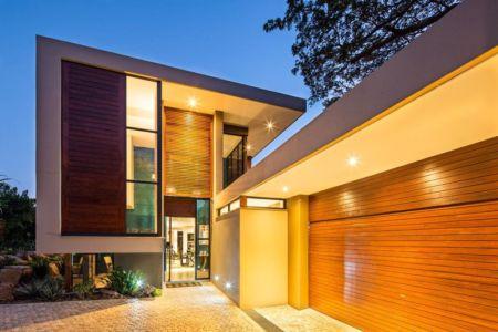 entrée - Aloe Ridge House par Metropole Architects - Kwa Zulu Natal, Afrique du Sud