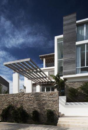 entrée - Ani Villas par Lee H. Skolnick Architecture - Anguilla