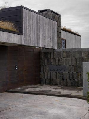entrée - Bakkaflöt 14 par Studio Granda - Islande