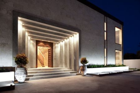 entrée - Bella Vita Villa par Prototype Design Lab -  îles Turques et Caïques