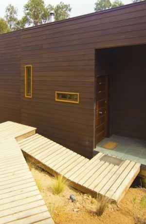 entrée - Casa Tunquén par CO2 Arquitectos - Vaparaiso, Chili