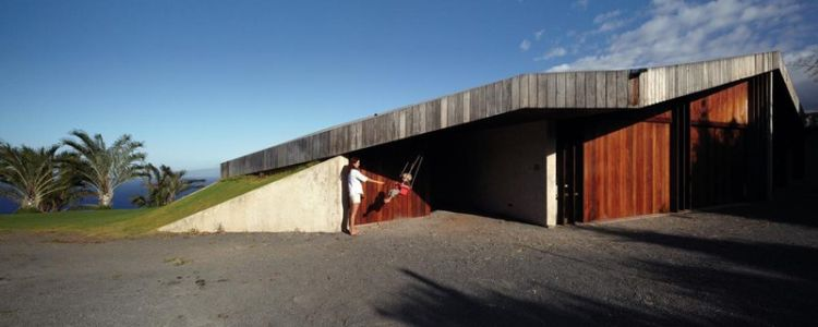 entrée - Clifftop House Maui par Dekleva Gregoric Arhitekti - Maui, Hawaï