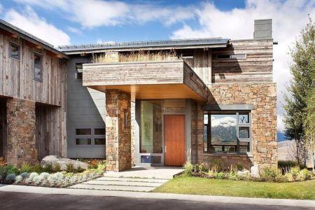 entrée - Contemporary Western par Hoyt Architects & CTA Group - Usa