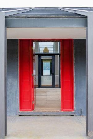 entrée - House in Futrono par Cristián Izquierdo Lehmann - Chili