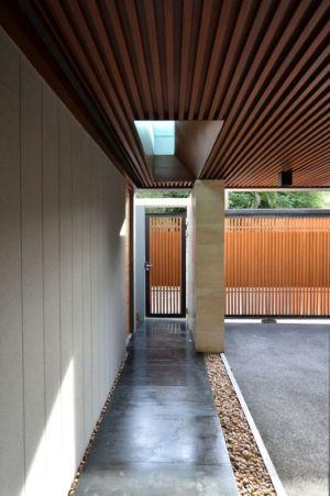 entrée - Joly House par StuDO Architectes - Bangkok, Thaïlande