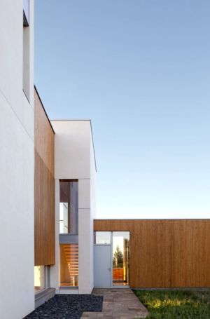 entrée - Karuna House par Holst Architecture - Newberg, OR, Usa