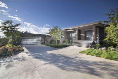 entrée - Las Canoas par Thompson Naylor Architects - Santa Barbara, CA, Usa