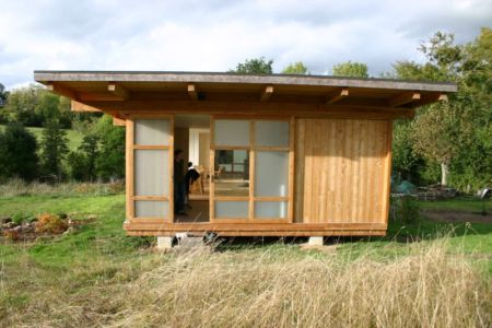 entrée - Maison dans la prairie par Arba - Montreuil, France