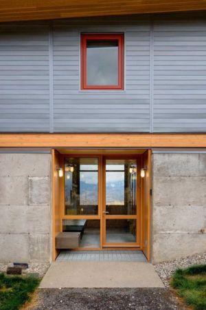 entrée - Nahahum Canyon House par Balance Associates - Nahahum Canyon, Usa