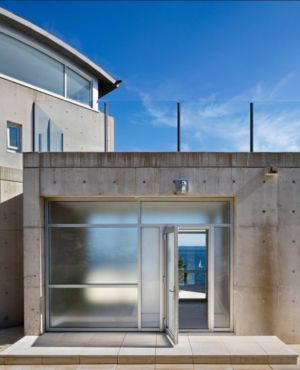 entrée - Nova Scotia House par Alexander Gorlin Architects - Ketch Harbour, Nouvelle-Écosse, Canada