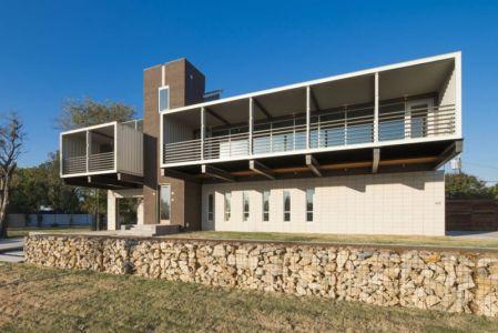 entrée - PV14 House par M Gooden Design - Dallas, Usa