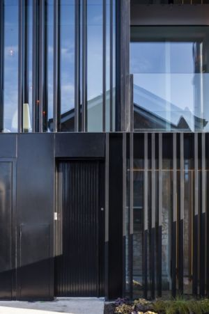 entrée - Percy lane luxury homes par Odos architects - Dublin Irlande.jpg