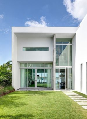 entrée - Peribere Residence par Max Strang Architecture - Biscayne Bay, Usa