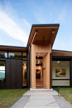 entrée - Piedmont Residence par Carlton Architecture - Asheville, Usa