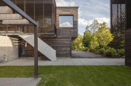 entrée - Red Rock House par Anmahian Winton Architects - Red Rock, Usa