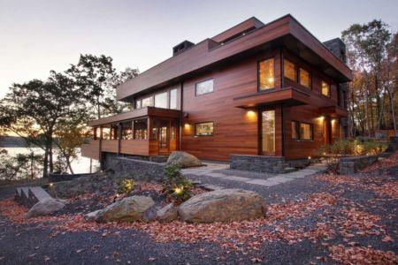 entrée - RiverBanks par Foz Design - Saugerties, Usa