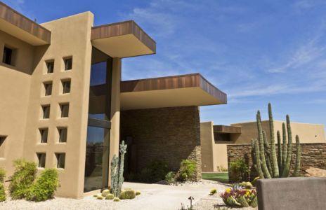 entrée - Sefcovic Residence par Tate Studio Architects - Usa