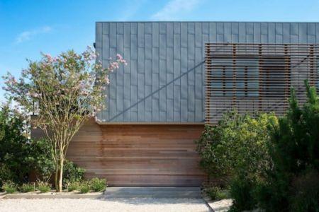 entrée - Shore House par Stelle Lomont Rouhani Architects -  Amagansett, Usa