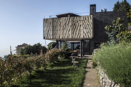 entrée - Tahan Villa par BLANKPAGE Architects - Kfour, Liban