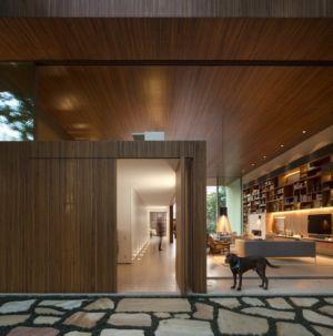 entrée - Tetris House par Studio mk27 - São Paulo, Brésil