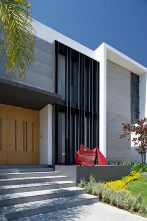 entrée - V-House par Agraz Arquitectos - Puerta Plata, Mexique