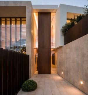 entrée - Vivienda en Son Vida par Negre Studio & Rambla 9 Arquitectura - Palma de Majorque, Espagne