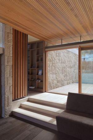 entrée baie vitrée - maison exclusive par CplusC - Waverley, Australie
