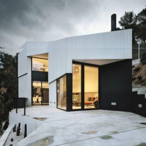 entrée baie vitrée - maison exclusive par Mirag Arquitectura i GestiO - Ametlla, Espagne