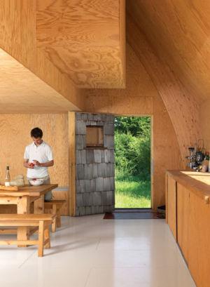 entrée cuisine - Barache residence par Jean-Baptiste Barache - Auviliers, France