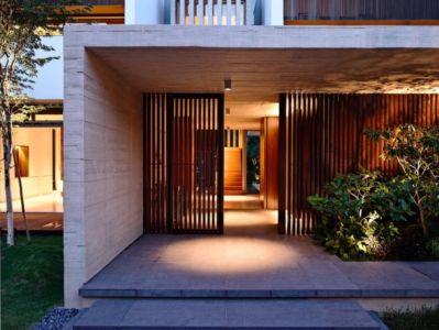 entrée de nuit - 59BTP House par ONG&ONG - Singapour