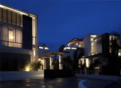 entrée de nuit - Ani Villas par Lee H. Skolnick Architecture - Anguilla
