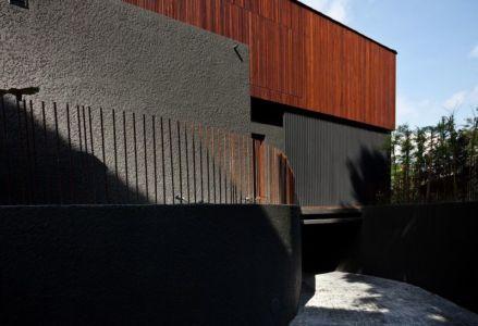 entrée espace souterrain - Victoria-Park par Ipli Architects - Singapour
