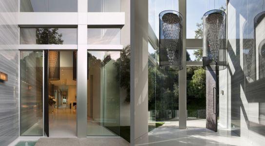 entrée et lustres monumentaux - Sarbonne par McClean Design - Los Angeles, Usa