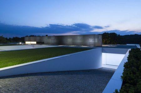 entrée garage - Nemo-house par Mobius Architects - lac Mazurie, Pologne