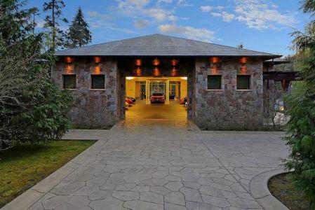 entrée garage - West Bellevue House - Washington, USA
