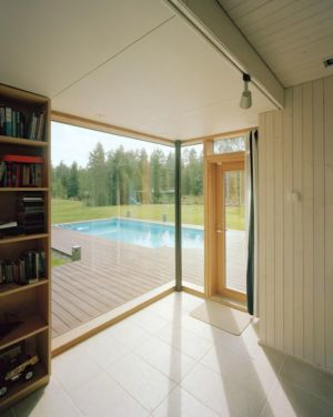 entrée & grande baie vitrée - House Ulve par Oopera - Seinäjoki, Finlande