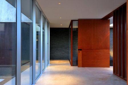 entrée intérieure - Kübler House par 57STUDIO - Stgo, Chili