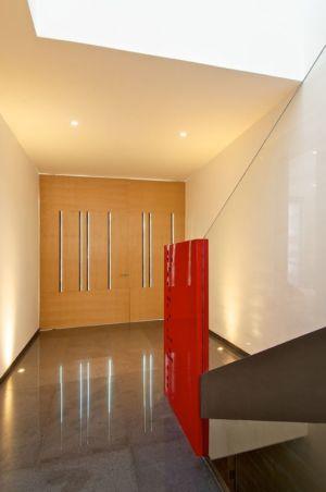 entrée intérieure - V-House par Agraz Arquitectos - Puerta Plata, Mexique