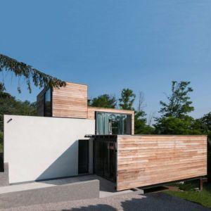 entrée - maison Pegasus par Saint-Cricq architecte - Toulouse, France
