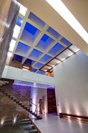 entrée monumentale - House-S par Lassala Elenes Arquitectos - Zapopan, Mexique