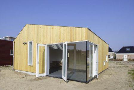 entrée porte vitrée - Biobased-Living-Concept par DDacha - Pays-Bas