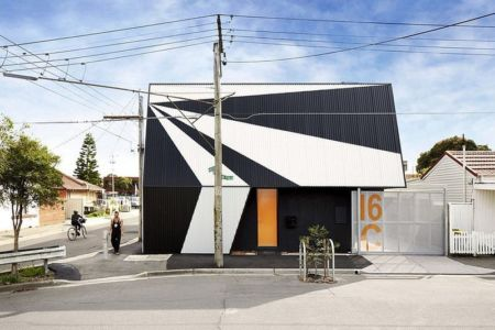 entrée principale - Hunter Street Home par ODR Architects - Australie