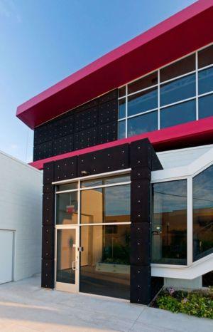entrée public  - Flute house par The Think Shop Architects - Royal Oak , Usa