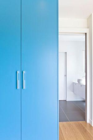 entrée salle de bains - House-in-Lyon par Damien Carreres - Lyon, France