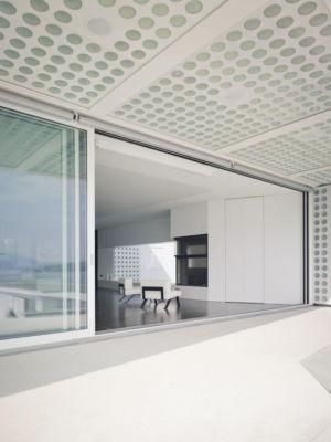 entrée salon - o-house par Philippe Stuebi - Lucerne, Suisse