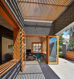 accès extérieur salon - rosebank-make par MAKE - Melbourne, Australie