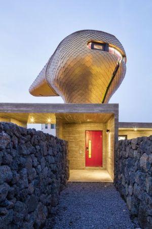 entrée secondaire - Wind-House par Moonbalsso - Jesu Island, Corée du Sud
