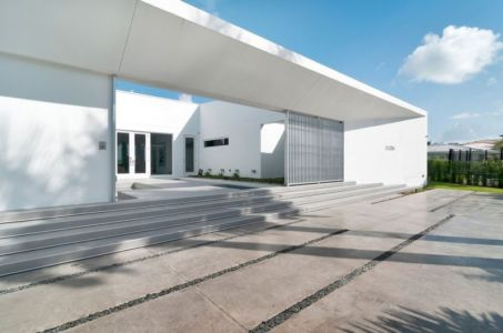 entrée terrasse - Gross-Flasz Residence par One d+b Miami - Harbor Island, Usa