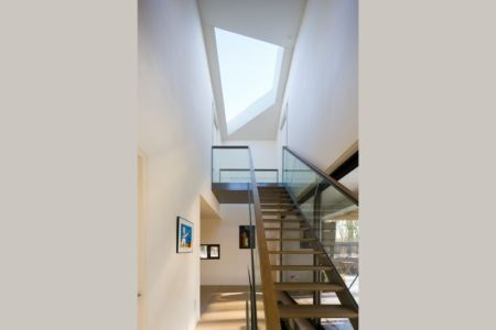 escalier - 102 Heesch par Hilberink Bosch Architecten - Bosvilla, Pays-Bas
